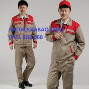 Quần áo bảo hộ vải kaki pangzim dày đẹp  tại bảo hộ gia bảo