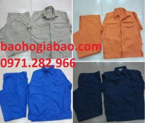Quần áo đồng phục bảo hộ lao động may sẵn giá rẻ