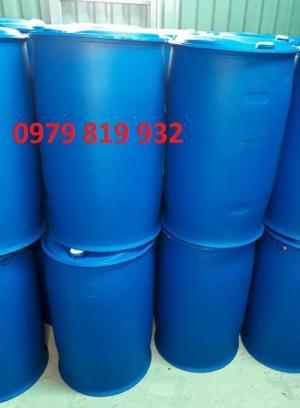 thùng phuy nhựa 220 lít đựng hóa chất các loại