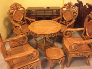 Bộ bàn ghế nho trúc