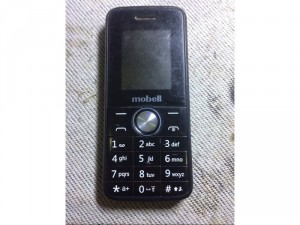 Điện thoại mobell 2 sim màu đen quận 9