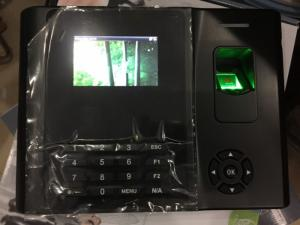 Máy chấm công vân tay X958A/X958C dòng máy có pin Demo 10 ngày