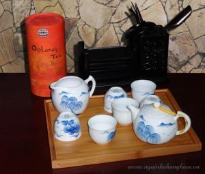 Sản phẩm chuyên dụng trà đạo - Bộ ấm Sơn Thủy GJ 81.GJ02