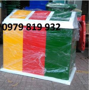 Xe thu gom rác 1000 lít giá rẻ tại Vũng Tàu