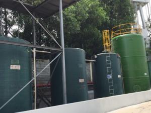 Bồn nhựa composite 70m3 chứa hóa chất DMF