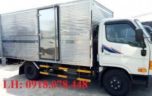 Xe tải Huyndai HD65 thung mui bạt