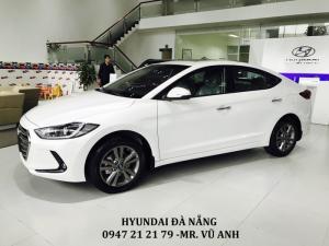 Xe Hyundai Elantra 2018  màu trắng - Đà nẵng giá sốc, giảm giá 80 triệu