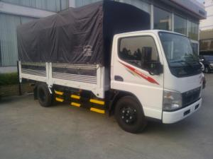 Giá  xe tải Fuso Canter 1.9 tấn/1t9 giá rẻ, thùng bạt/thùng kín giao ngay,giá tốt nhất,vay ngân hàng.