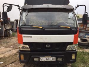 Xe tải cũ Veam 5 tấn đời 2015 thùng dài 6m2, thùng mui bạt