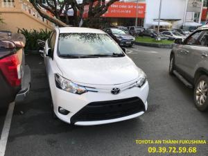Khuyến Mãi Toyota Vios 2018, Giảm Tiền Mặt, Tặng Phụ Kiện, 130tr Giao Xe Ngay