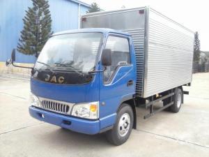 Bán xe tải JAC 2.4 tấn 2t4 2,4t động cơ Isuzu, Bao vay 100% toàn quốc