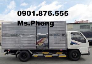 Bán Xe Tải Đô Thành IZ49, Giá Xe Tải Đô Thành IZ49 2T3 Thùng Kín ,Giao Ngay