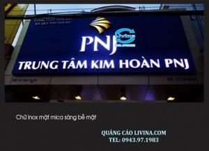 Biển chữ nổi các loại có bán tại TP.Hồ Chí Minh