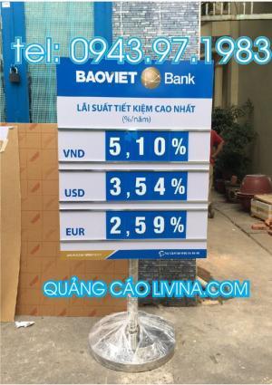 Bảng Lãi Suất Ngân Hàng Đẹp Tại TP.Hồ Chí Minh