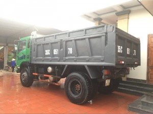 Bán xe tải ben DONGFENG Trường Giang 9T2 2015 xe cũ giá tốt