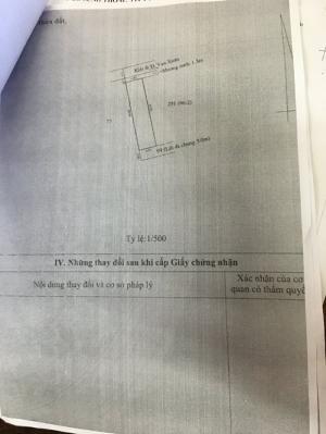Bán lô đất 3 mặt tiền ngay chợ và trường cấp 1 Kim Long