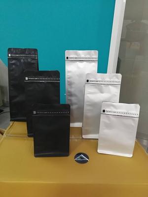 Túi nhôm cà phê có zipper một mặt 250g - 500g - 1kg