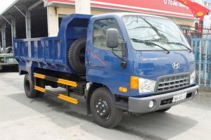 Xe ben Hyundai hd700 7 tấn khuyến mãi 40 triệu