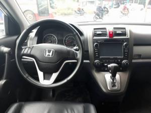 Cần bán gấp xe Honda Crv 2.4at 2011 màu bạc long lanh