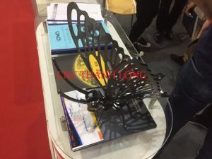 Bán máy laser cắt kim loại tấm và nhận gia công giá rẻ