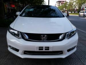 Honda Civic 1.8 AT 2014, màu trắng , Biển Sài Gòn Rút Hồ Sơ