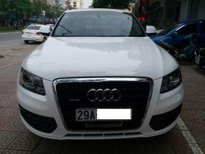 Audi Q5 3.2 xuất Mỹ model 2009. màu trắng, Biển Hà Nội