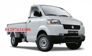 Chuyên bán xe tải trả góp - xe tải suzuki thùng lửng 740 kg