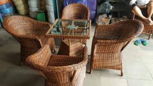 bàn ghế mây cafe cao cấp giá rẻ