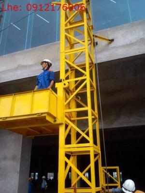 Vận thăng nâng hàng 500kg cao 20m