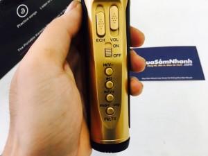Mic Karaoke Kiêm Loa Bluetooth SD-10 Bản Nâng Cấp SD-08 2017 - MSN388285