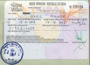 Dịch vụ làm visa đi Ấn Độ - Làm nhanh - Lấy khẩn