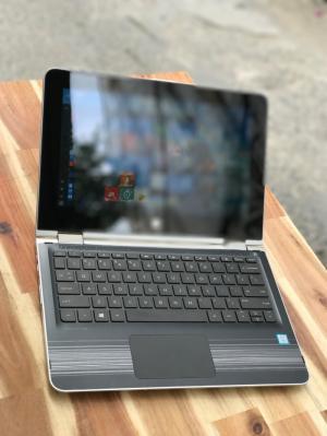 Laptop Hp X360 ad026TU, I3 7100U 4G 500G Cảm ứng xoay 360 độ còn BH chính hãng 6/2018 Pin khủng