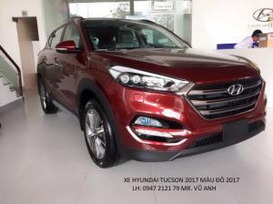 Xe HYUNDAI TUCSON Đà Nẵng 2018 màu đỏ giá sốc  chỉ 760 triệu