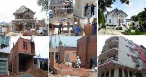 thi công xây dựng, sửa nhà trọn gói