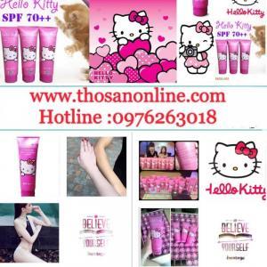 Kem Dưỡng Body Hello Kitty Spf70+++ (Chính Hãng)