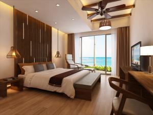 Bán Biệt Thự 551m2, 1 tầng 3 ngủ 100% view biển, để ở /cho thuê 205 triệu/tháng