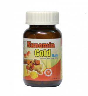 Nanomin Gold Ilife (tinh chất curcumin 200mg) giúp phục hồi sức khỏe
