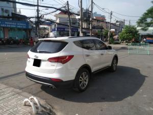Cần bán xe Hyundai SantaFe 2014 màu trắng nhập khẩu Hàn Quốc