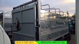 Bán xe tải Kia K165S Bửng Nâng, tải trọng 1.8 tấn. Hỗ trợ trả góp