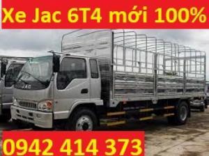 Bán xe tải Jac 6T4 thùng bat từ thùng lửng mới 100% giá chỉ 529 triệu giao xe nhanh chóng