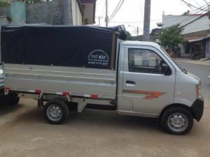 Xe tải thùng bạt dongben 870kg/ 770kg/ Bán trả góp hỗ trợ vay 90%