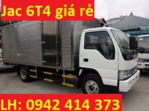 Xe tải Jac 6T4 thùng kín mới 100% kết hợp công nghệ Izuzu giá chỉ 534 triệu