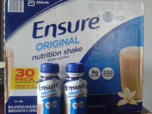 Sữa Ensure chai nước nhập từ Mỹ