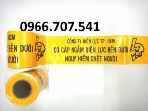 Băng cảnh báo cáp ngầm nilon giá rẻ