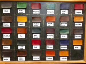 Bảng màu nhuộm Fiebing Dye của Mỹ