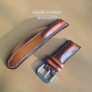 Dây đồng hồ handmade da bò cao cấp- đòng độn form cao