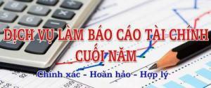 Nhận làm báo cáo tài chính cho doanh nghiệp
