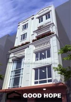 Bán nhà mặt tiền 4.5m, xây mới 5 tầng