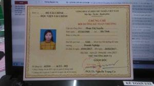 Khóa học kế toán trưởng tại Nghệ An