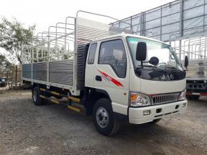 Bán xe tải jac 6t4 thùng mui bạt.